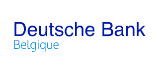Deutsche Bank Logo FR Belgique